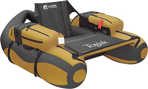 Inflatable Fishing Float Tube With Backpack Straps (Togiak) [Classic Accessories] Picture