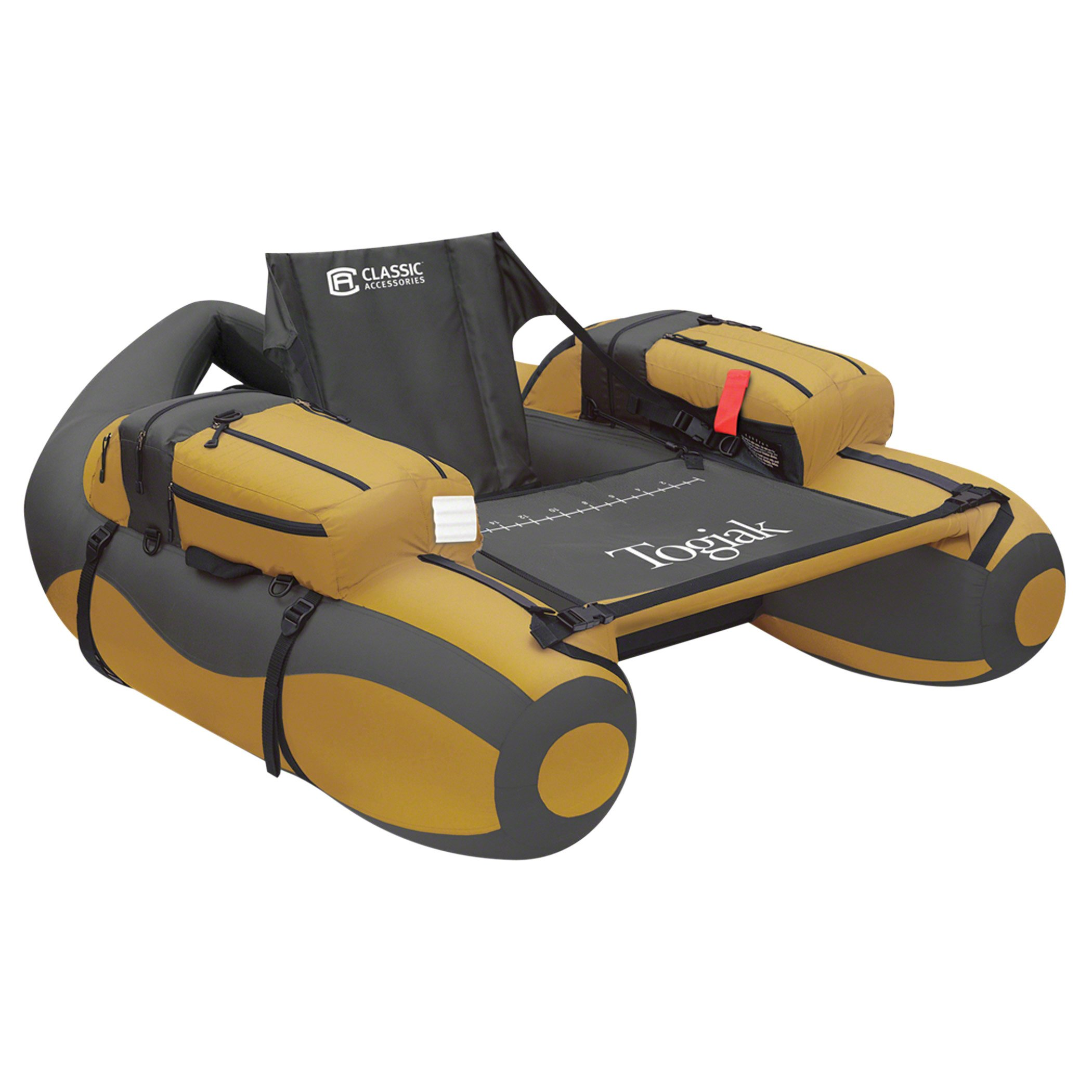 Classic Accessories Togiak Inflatable Fishing Float Tube With Backpack Straps by Classic Accessories