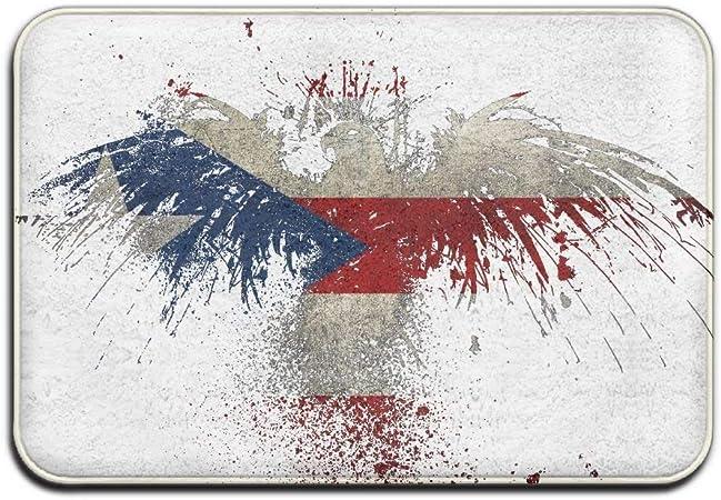 Alfombra decorativa, puerta exterior no deslizable, baño de jardín, alfombra de la bandera de American Eagle Alfombra exterior de goma Alfombra exterior de la puerta Alfombra de goma Garaje Grande: Amazon.es: Hogar