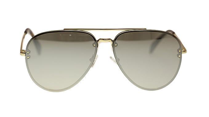 1e0e9d16a2c4 Celine Unisex Sunglasses Cl41391 J5G SS Gold Silver Lens Aviator 60mm  Authentic