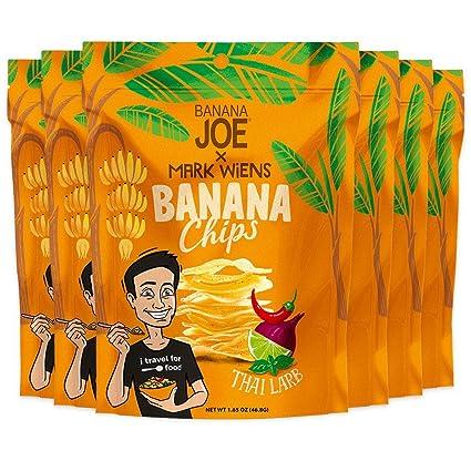 Banana Chips – Thai Larb Flavor. aperitivos saludables ...