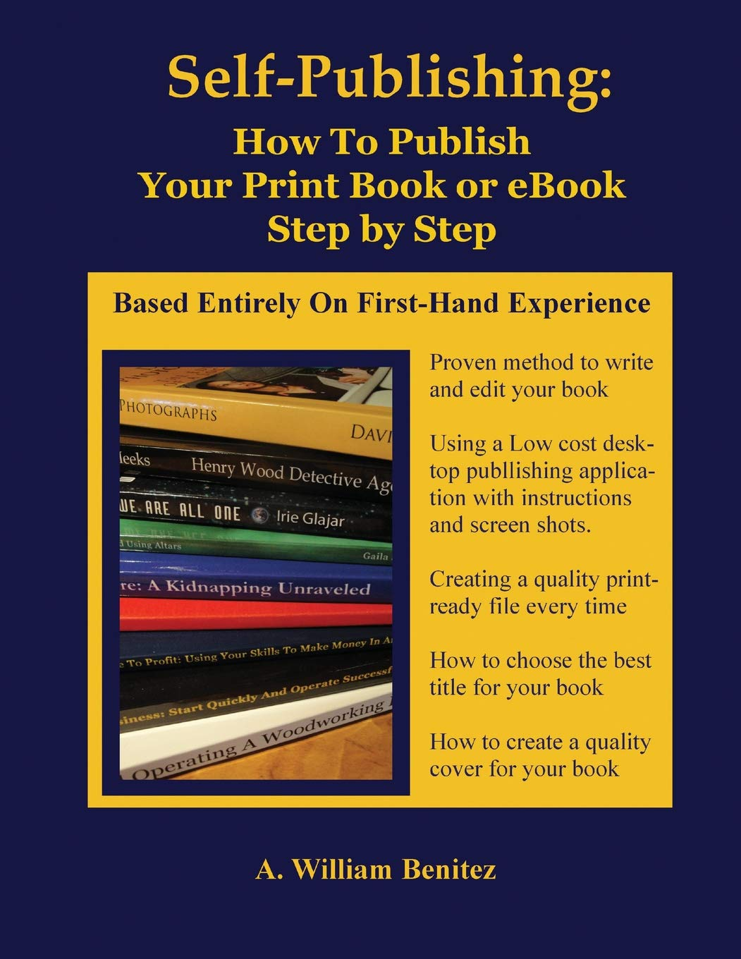 Self Publishing: How to Publish Your Print Book or eBook Step by Step (Volume 1) PDF