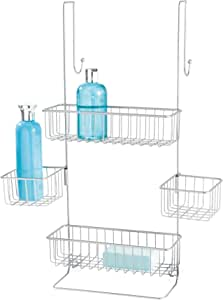 InterDesign Metalo Estantería de baño para colgar, estante de ...