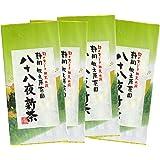 新茶予約 八十八夜新茶 茶葉400g 静岡牧之原団地 摘みたての新茶 高級焙煎 日本茶 新茶 緑茶 お茶 独自な製法と仕上げで香り高い旨味の逸品 (400g(100g×4))