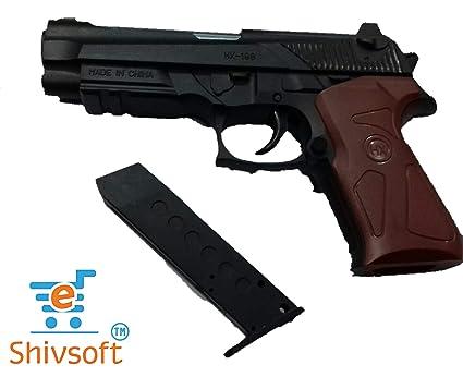 Shivsoft Generic Air Sports Gun With 6Mm Bullets Hx198