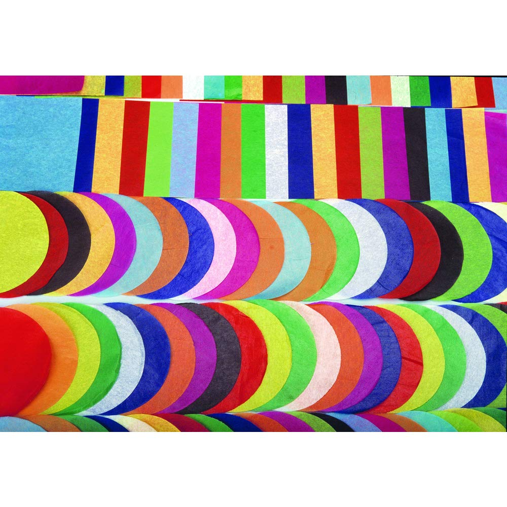 480 Sheets Hygloss Products Bleeding Tissue Assortment Multi-Color Assortment 20 x 30 Inch