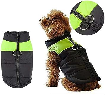 warm Jacke FleeceGefütterter Große Shinmax Puffer Kleine Hund Hundemantel Kleidung Winterjacke Regenmantel Brustschutz Mittlere Wasserdichte Welpen 2EIDH9