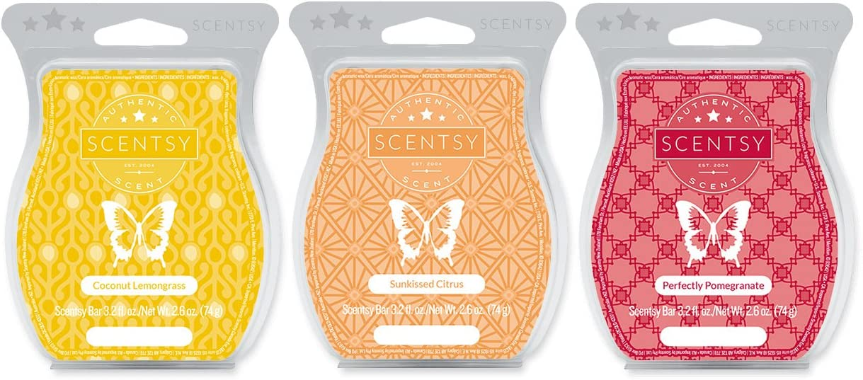 Los Angeles Mall Scentsy Multi-Pack - Coconut Soldering Lemongrass Sunkissed Perfe Citrus