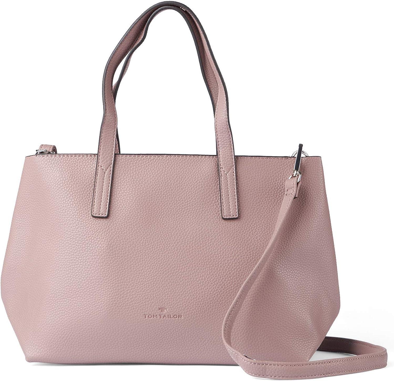 TOM TAILOR Damen Taschen & Geldbörsen Shopper Marla old rose - Handtaschen günstig
