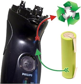 Batería Cambio Akkutauschservice para afeitadora Philips ...