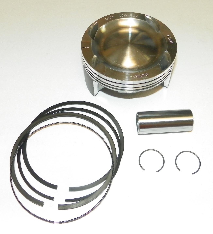 Polaris Piston Kit GTX 4 Tec Ltd., RXP, RXT, Super Charged 215/255/260 Forged/Platinum 3 Cylinder OEM# 420890244, 420892735 (010-862-07K - 1.00mm (100.96mm))