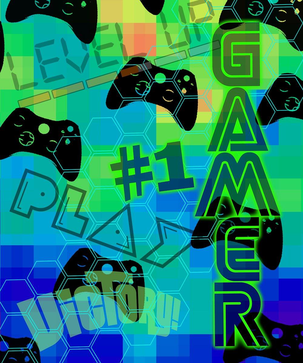 "Nu Trendz Signature ""Gamer"" Video Game Blanket Throw"