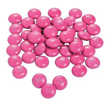 Fun Express – M&m rosa oscuro a granel caramelo (2lb) para ...