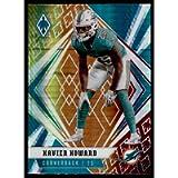 2020 Panini Phoenix Fire Burst #93 Xavien Howard Miami Dolphins (Silver Prizm Refractor) NFL Football Card NM-MT