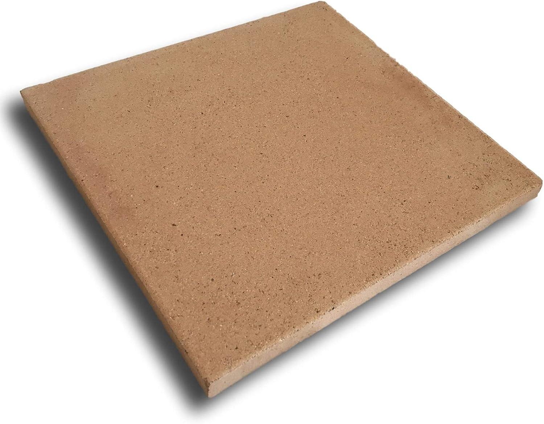 Piedra de horno de arcilla refractaria - 30x30 cm