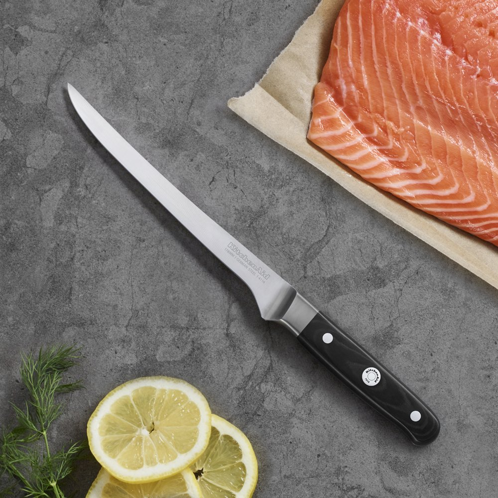 Kitchen Aid Professional Series 7-inch - Good fillet knife with German stainless steel