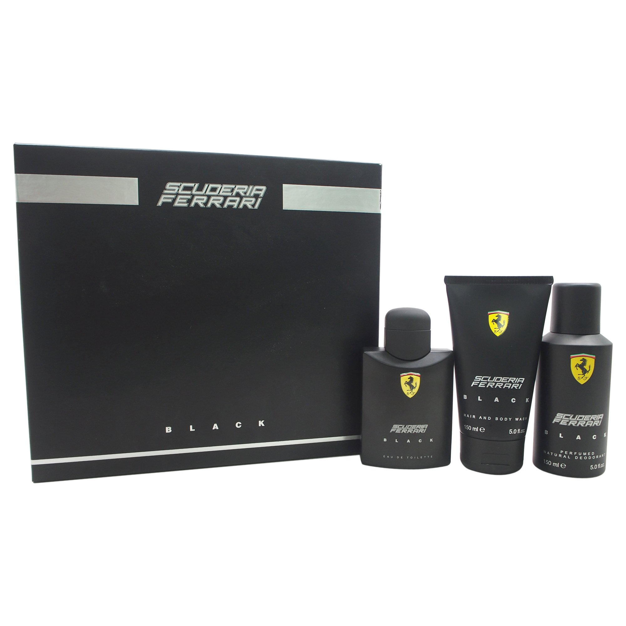 Ferrari Black for Men 3 Piece Gift Set by Ferrari (Image #1)