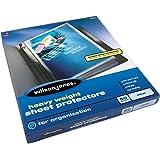 Wilson Jones Heavy Weight Top-Loading Sheet Protectors, Clear, 50/Box (W21410)