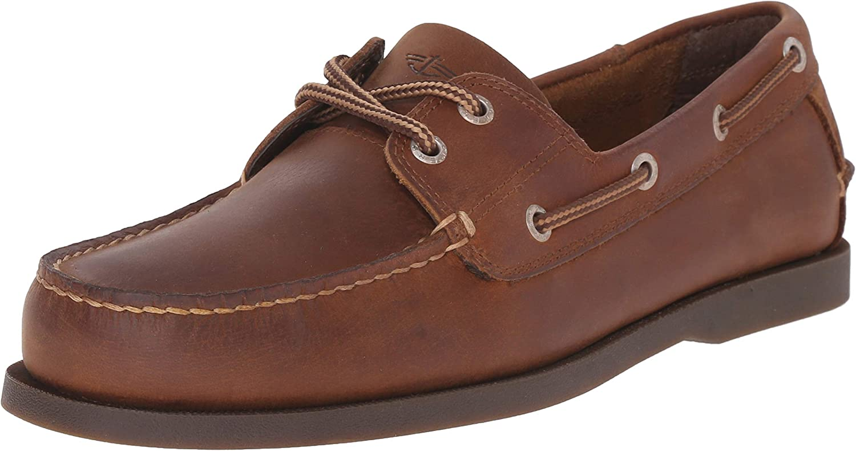 Dockers Vargas Men's Leather Boat Shoe