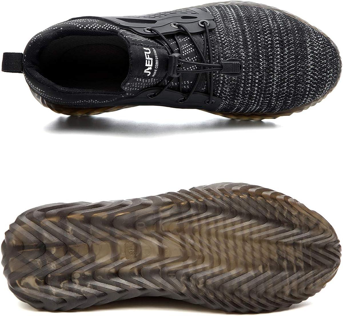 CHNHIRA Chaussures de S/écurit/é Homme Embout Acier Protection L/éger Basket Securite Chaussures de Travail Unisexes