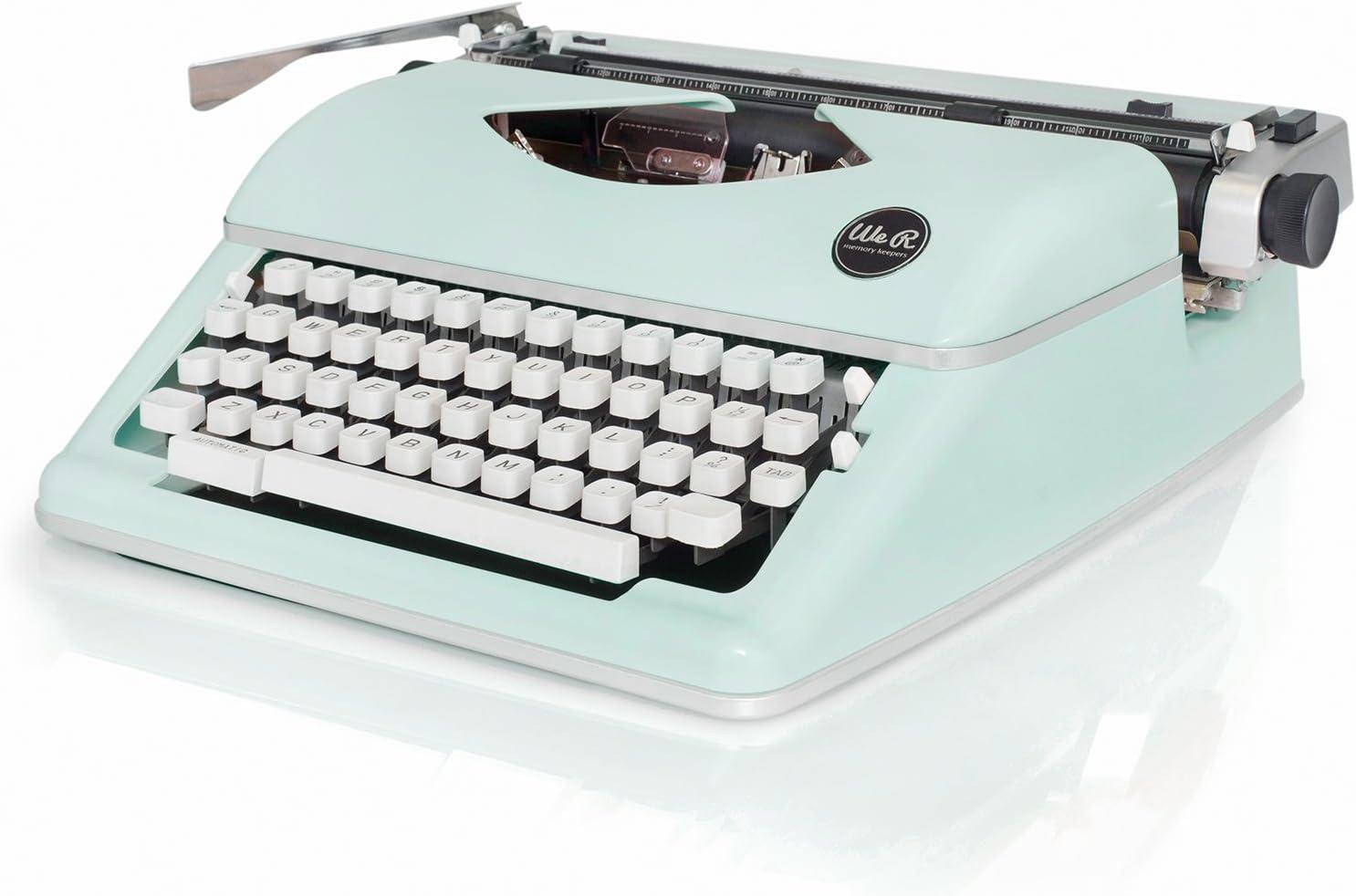 /Nastro bianco//nero American Crafts We R Memory Keepers Typewriter/