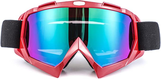 Seeu – Gafas de esquí para hombre Mujer Gafas de Motocicleta