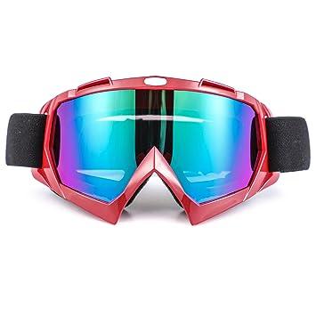 Seeu - Gafas de esquí para hombre Mujer Gafas de Motocicleta ...