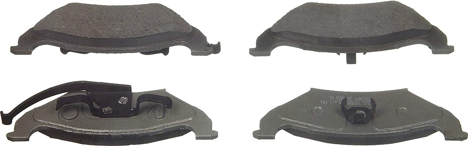 Disc Brake Pad-ThermoQuiet Rear Wagner PD544