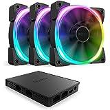 NZXT AER RGB 2-120mm - RGB LED - Fluid Dynamic...