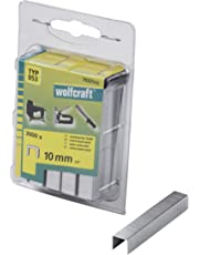 Wolfcraft 7037000 3000 Klammern breit, X-harter Stahl Typ 53 10 mm