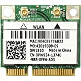 Dell Wireless WLAN 1510 DW1510 内蔵ワイヤレスLAN Half-Miniカード (300Mbps 802.11a/b/g/n対応) BCM94322HM8L/BCM4322