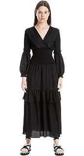 59827d07c7b Amazon.com  MAXSTUDIO Belted Jumpsuit Womens Romper One-Piece ...