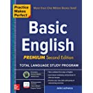 Practice Makes Perfect Basic English, Second Edition: (Beginner) 53 leasons +125 Exercises + 40 Audio Pronunciation Exercises (Practice Makes Perfect Series)