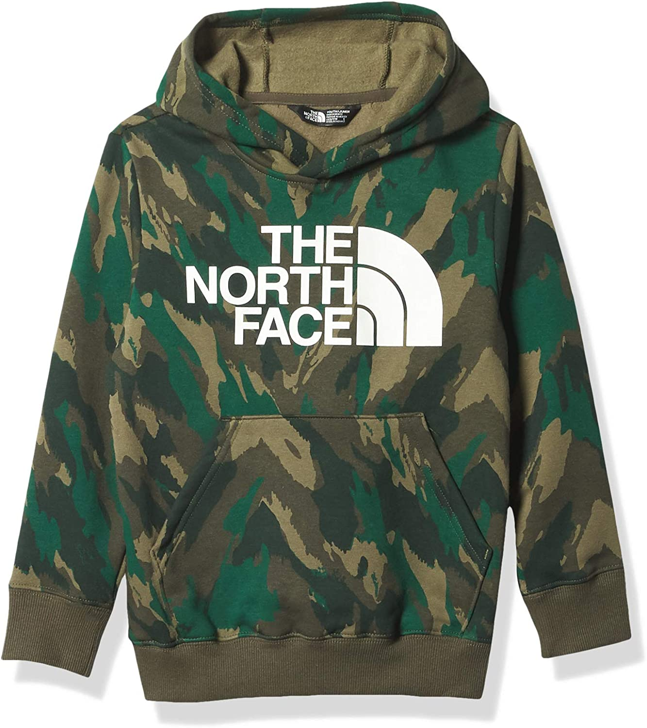 The North Face Youth Logowear Pullover Hoodie Sweatshirt: Clothing
