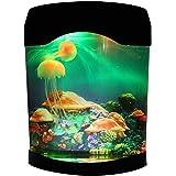 Novedad LED medusas artificiales iluminación del acuario luz nocturna