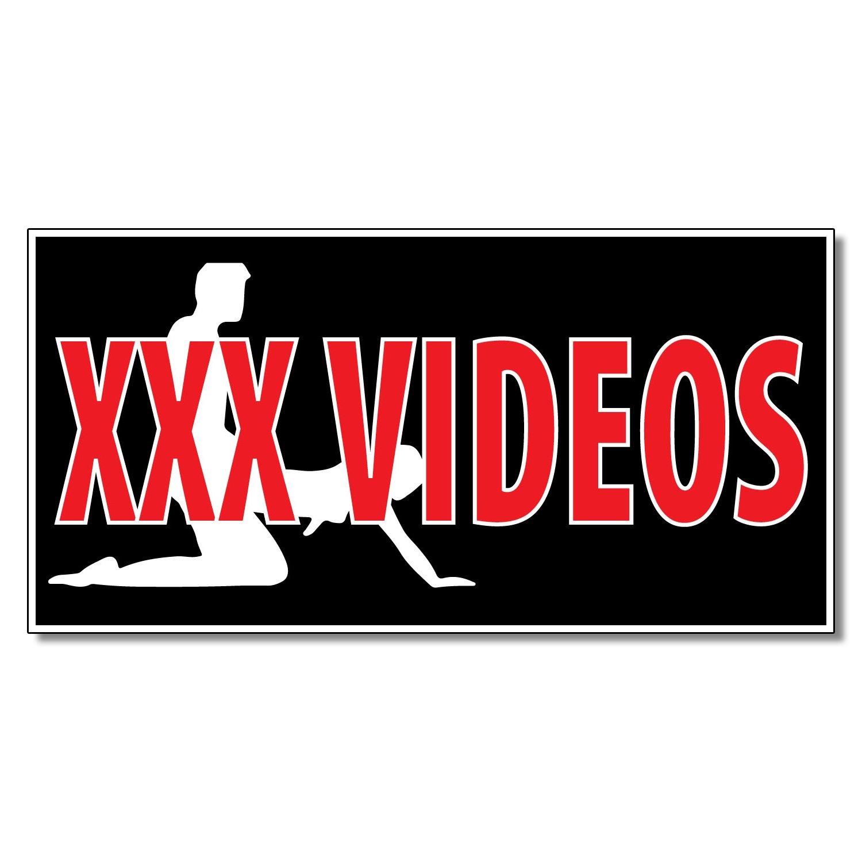 Amazon.com: XXX Videos calcomanía tienda al por menor de ...