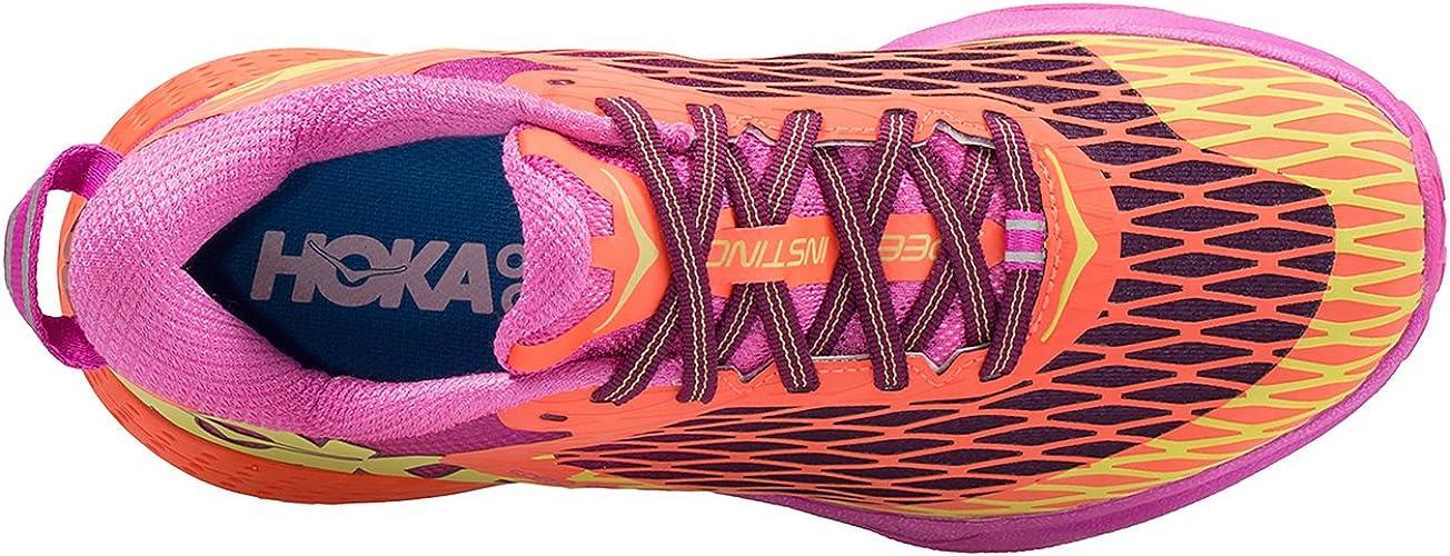 Zapatilla Trail Running Hoka Speed Instinct, Mujer, Color Rosa ...