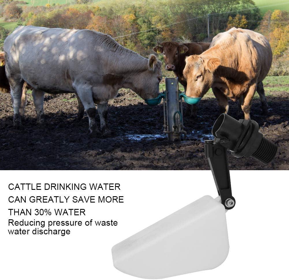 Galleggiante per ciotola dacqua potabile per mucca galleggiante per bevitore dacqua di mucca triangolare in plastica Galleggiante per bestiame da bere Accessorio per cavallo Bovini Capra Pecora Mai