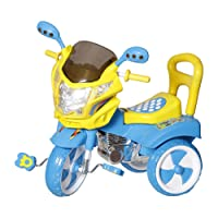 Dash Kids Tricycle with Under seat Storage Space, Lights and Music.