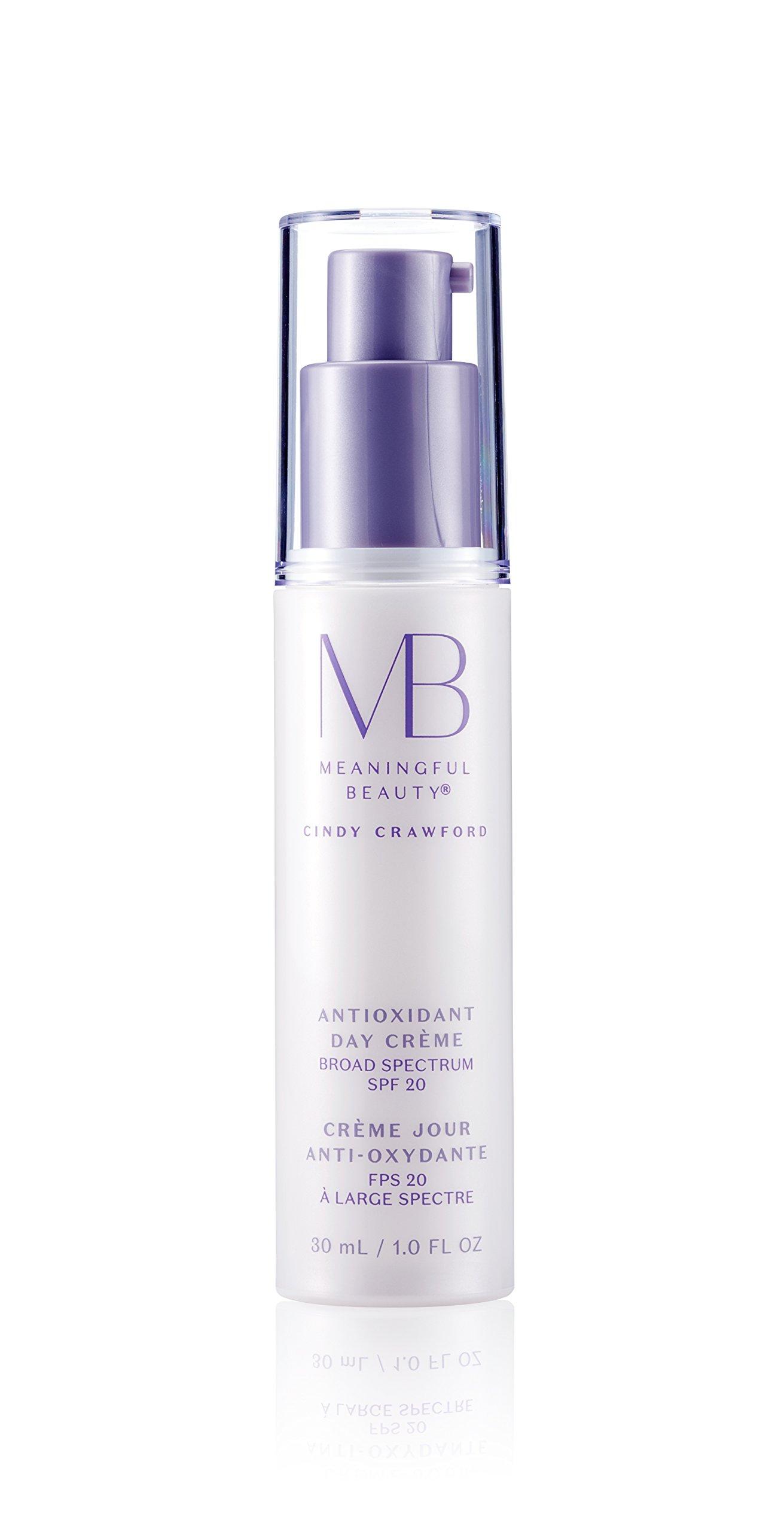 Meaningful Beauty - Antioxidant Day Crème - Vitamin C SPF 20 Moisturizer - 1 Fluid Ounce - MT.0355