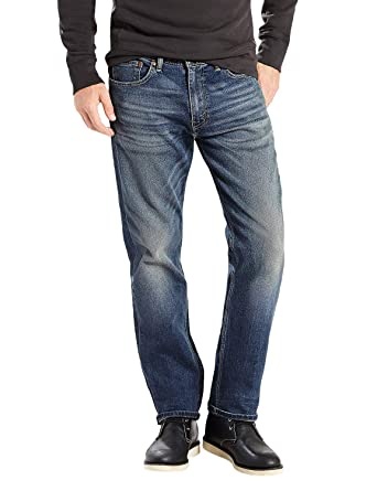 5cbbc9cb955 Levi's Mens 505 Regular Fit-Jeans at Amazon Men's Clothing store:
