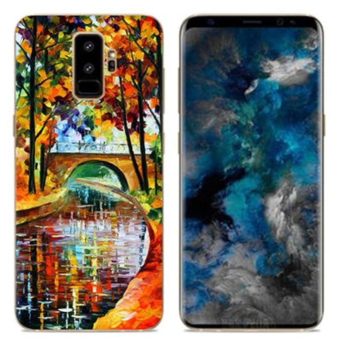 Carcasa para Samsung Galaxy S9 Plus, diseño de Leopardo ...