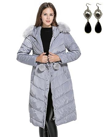 Long Queen Manteau Capuche Femme D'hiver M Doudoune Down A Jacket z1qxTd