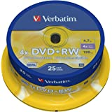 Verbatim (43489) : DVD+RW  25-pack : Optical Media