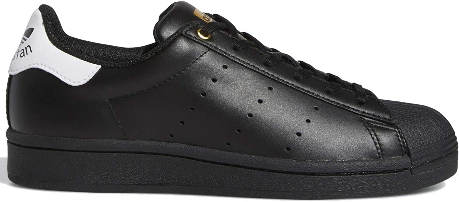 black and white shell toe adidas grade school