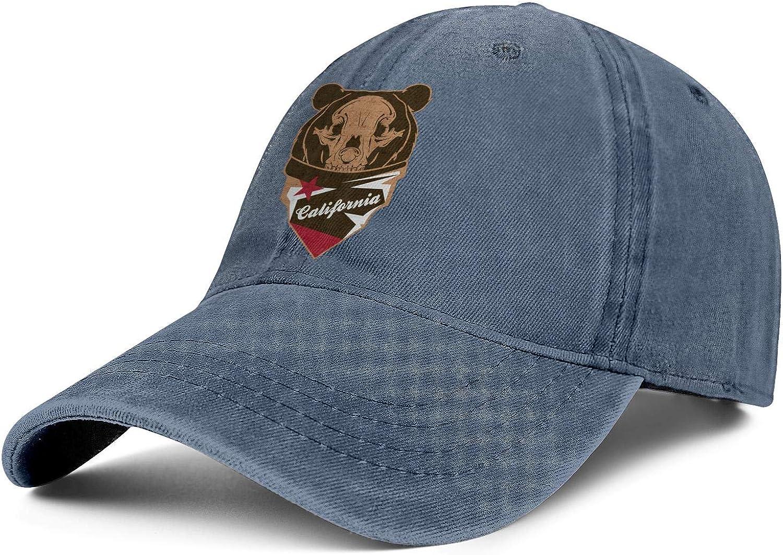 Fit Retro Mens Jean Baseball Caps Bald American Flag Flat Hat for Men Casual Jeans Denim Dad Hat for Women
