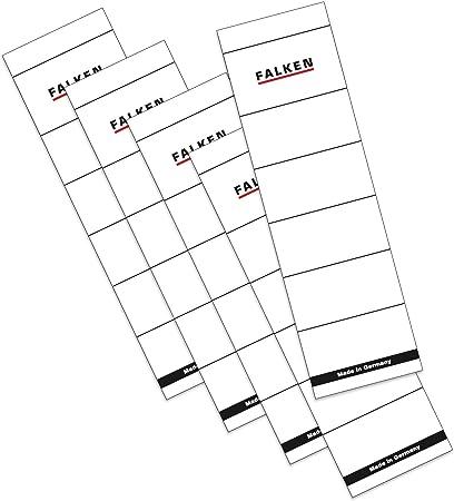 Original Falken 10er Pack Recycling-Ordner Wolkenmarmor Made in Germany 8 cm breit DIN A4 roter R/ücken Ringordner Aktenordner Briefordner B/üroordner Pappordner Schlitzordner Blauer Engel