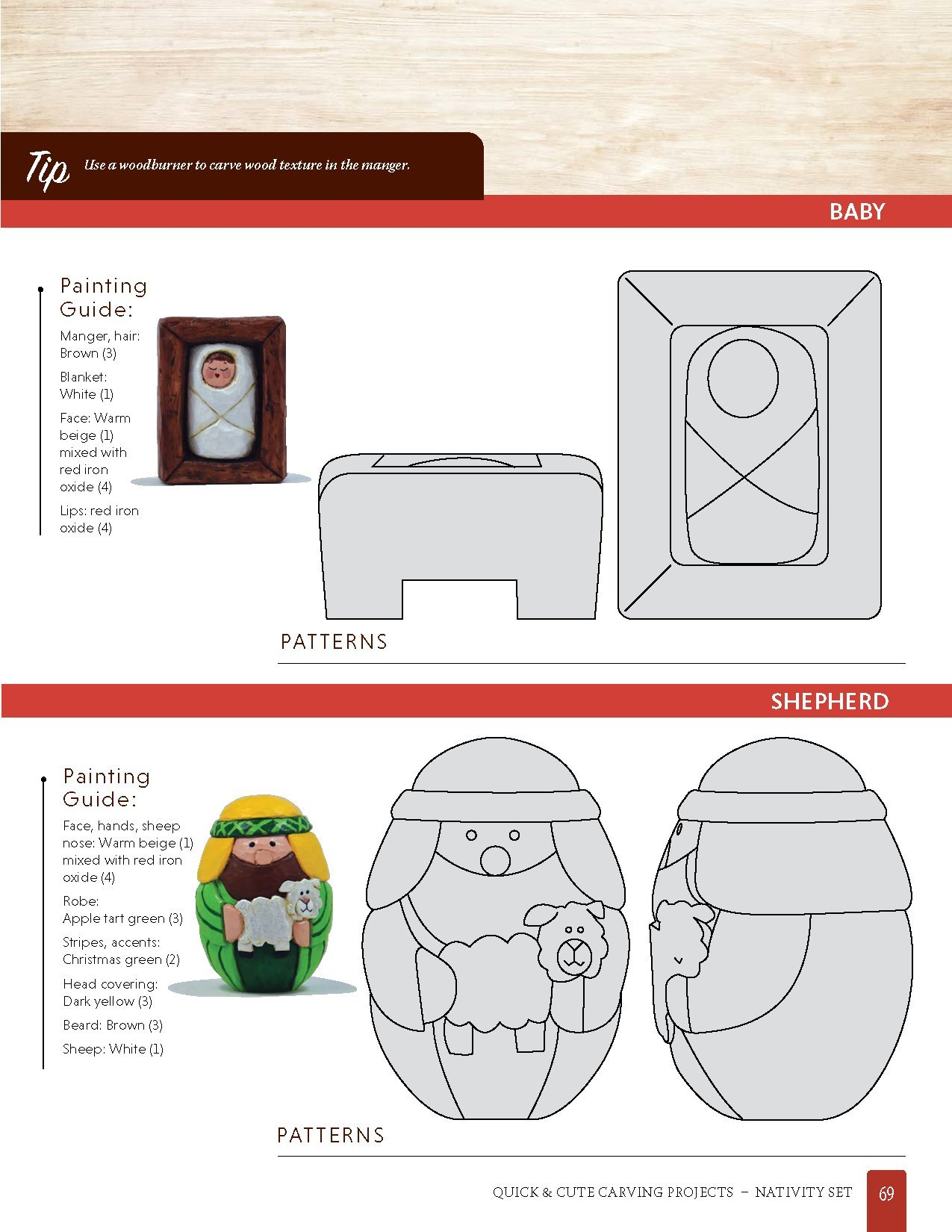 Quick Cute Carving Projects Patterns For 46 Projects To Carve In