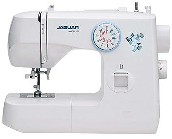 Jaguar 125 Disminución de la Bobina máquina de Coser con la Aguja de Coser Enhebrador + GRATIS Lona Bolsa la Máquina de Coser: Amazon.es: Hogar