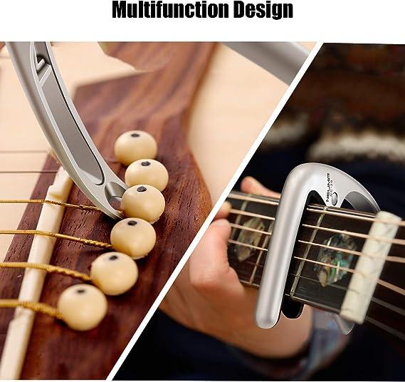NEUMA Cejillas Guitarra Capo para Guitarra Eléctrica, Acústica y ...